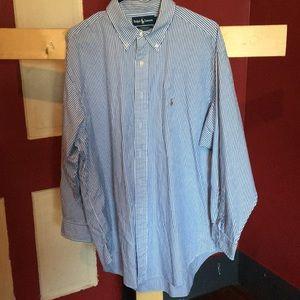 Men's Ralph Lauren 17 1/2-34 dress shirt